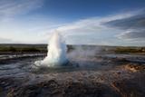 Strokkur Geyser, Geysir, Iceland Photographic Print