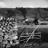 Watendlath, Borrowdale, Cumbria. the Hamlet of Watendlath Viewed across Watendlath Tarn Photographic Print by John Gay
