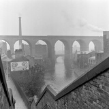 Railway Viaduct, Stockport, Greater Manchester Photographic Print by Eric De Mere