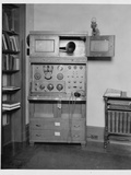 Radio Receiver in a Home Photographic Print