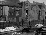 Dunbar Wharf, Narrow Street, Limehouse, London Photographic Print by S.W. Rawlings