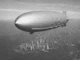 Dirigible Macon over New York City Photographic Print