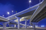 Highway Overpasses, Tampa, Florida Photographic Print