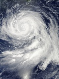 Super Typhoon Bolaven (16W) in the Philippine Sea Photographic Print