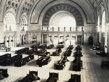 Interior of Union Station Photographic Print