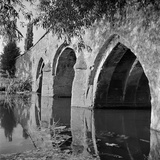 Old Radcot Bridge, Oxfordshire, a View of the Three Arched Bridge Which Dates from the 14th-Century Photographic Print by Eric De Mere