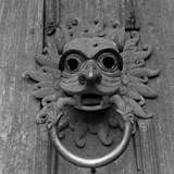 Durham Cathedral, Durham, the Famous Sanctuary Door Knocker on the North Door of Durham Cathedrall Photographic Print by Eric De Mere