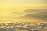 Low Clouds Surrounding Annapurna Himal Foothills Photographic Print