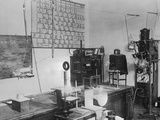 Interior of Madame Curie's Laboratory Photographic Print