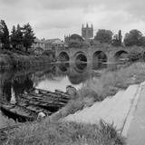 Wye Bridge, Hereford Photographic Print by Eric De Mere