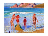Seaside, 1909 Reproduction procédé giclée par Maurice Denis