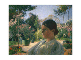 In the Garden, 1904 Reproduction procédé giclée par Henri Martin