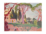 Saint-Cassien Chapel, Cannes, 1922 Giclee Print by Maurice Denis