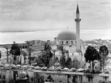 View of Large Mosque Against Skyline Photographic Print
