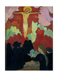 Offering at Calvary, C. 1890 Giclee Print by Maurice Denis