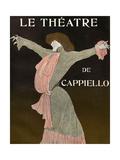 Front Cover of 'Le Theatre' Magazine, 1903 Gicléetryck av Leonetto Cappiello