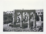 Ruins at Karnak in Thebes Photographic Print