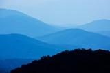 Skyline Drive, Shenandoah National Park, Virginia Impressão fotográfica