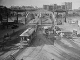 View of Victoria Bridge Photographic Print