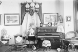Turn of the Century Living Room Photographic Print