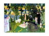 The New Born, 1900 Giclee Print by Maurice Denis