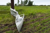 Tornado Storm Damaga, Saskatchewan, Canada Photographic Print
