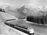 View of Moving Train Photographic Print