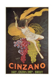 Poster Advertising 'Cinzano', 1920 Lámina giclée por Leonetto Cappiello
