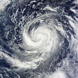 Tropical Storm Prapiroon (22W) in the Philippine Sea Photographic Print