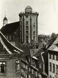 View of Early But Distinguished Buildings Photographic Print
