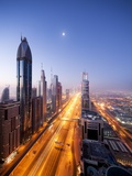 City Skyline, Dubai, UAE Photographic Print