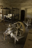 Spinning Wheel and Looms at La Purisima Mission in Lompoc California Photographic Print