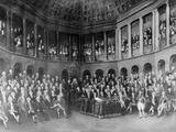 View of Early Irish House of Commons Convention Members Photographic Print