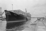 View of the American Freighter SS Mayaguez Photographic Print