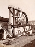 Laxey Wheel (1854) Isle of Man, World's Largest Working Waterwhe Photographic Print