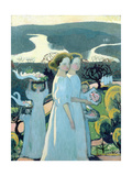 Easter Procession Giclee Print by Maurice Denis