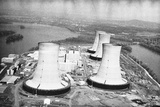 The Cooling Towers at Three Mile Island Photographic Print