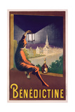Poster Advertising 'Benedictine' Liqueur, C. 1928 Stampa giclée di Leonetto Cappiello