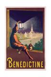 Poster Advertising 'Benedictine' Liqueur, C. 1928 Gicléetryck av Leonetto Cappiello
