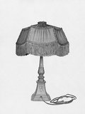 General Electric Lamp Photographic Print