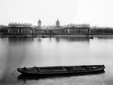 Royal Naval College, Greenwich, London, a View of the Royal Naval College Photographic Print