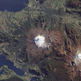 Volcan Villarrica, Southern Chile Photographic Print