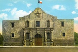 The Alamo in San Antonio Photographic Print