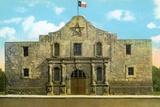 The Alamo in San Antonio Photographic Print
