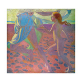 On the Beach, 1912 Reproduction procédé giclée par Maurice Denis