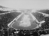 1896 Olympic Games in Athens Photographic Print