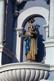 Virgin Mary Statue Photographic Print