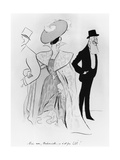 Caricature of Leopold II and Cleo De Merode Giclee Print by Leonetto Cappiello