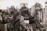 View of Times Square Photographic Print