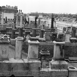 Eaton Place, Belgravia, London, a View of the Rooftops of Eaton Place Photographic Print by John Gay